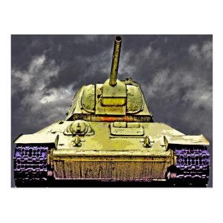 T-34 el tanque ruso, monumento soviético, Berlín - Tarjetas Postales