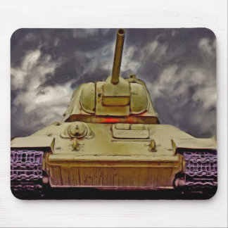 T-34 Russian Tank,Soviet Memorial,Berlin - Oil/Fro Mouse Pad