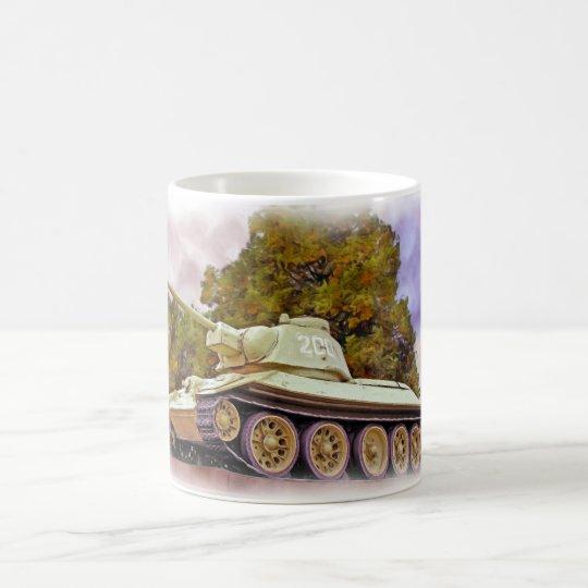 T-34 Russian Tank,Soviet War Memorial, Berlin -Oil Coffee Mug