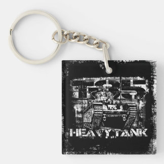 T-35 Square (double-sided) Keychain