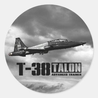 T-38 Talon Classic Round Sticker