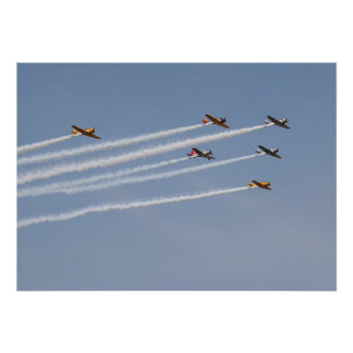 T-6 Texan Formation Posters