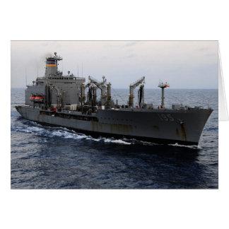 T-AO 195 USNS Leroy Grumman Greeting Card