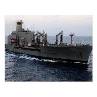 T-AO 195 USNS Leroy Grumman Postcard