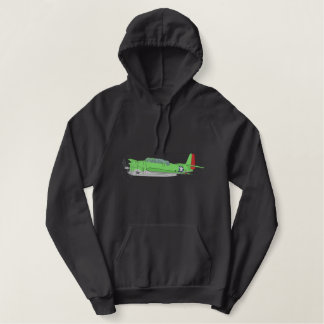 T B F Avenger Embroidered Hoodie