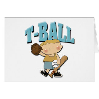 T-Ball Boy Card