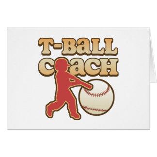 T-Ball Coach Card