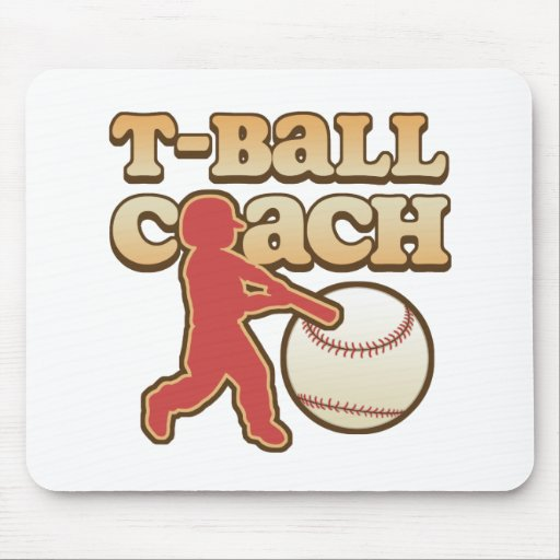 T-Ball Coach Mouse Pad