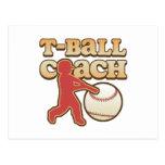 T-Ball Coach Post Card