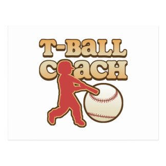 T-Ball Coach Postcard