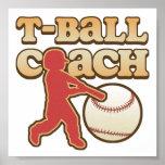 T-Ball Coach Poster