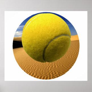 T-Ball Dunes - Poster