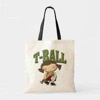 T-Ball Girl Tote Bag
