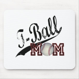 T-Ball Mom Mouse Pad
