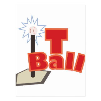 T-Ball Postcard