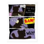T. Bear Suicide Postcard