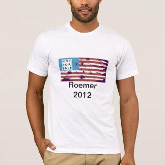 """""""T blanco"""" hizo en los E.E.U.U. Romer en 2012 Playera"""