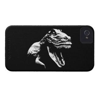T blanco Rex iPhone 4 Cárcasa