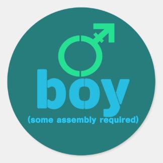 T-Boy Assembly Stickers