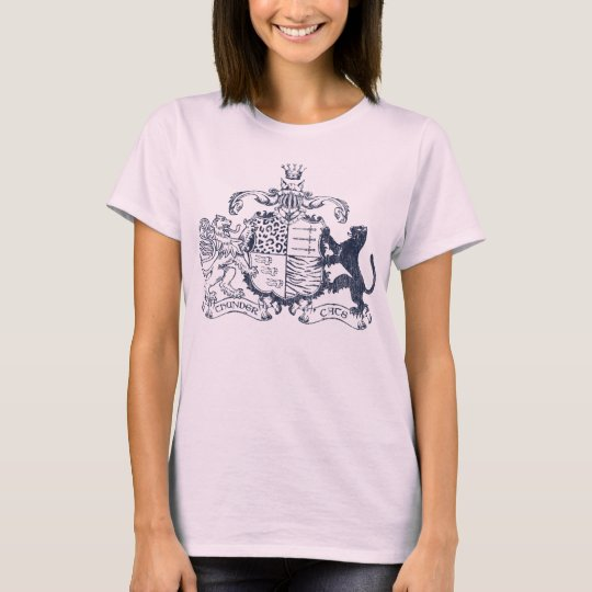 T-cats coat of arms - blue T-Shirt