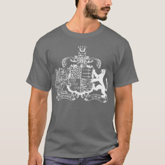 T-cats coat of arms - white - with dates T-Shirt