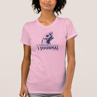 T clásicos de las señoras (pienso, por lo tanto camisetas