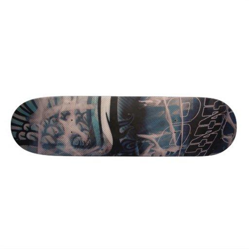 t custom skate board