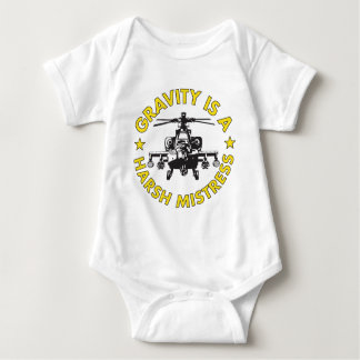 T de la nave del traqueteo mameluco de bebé