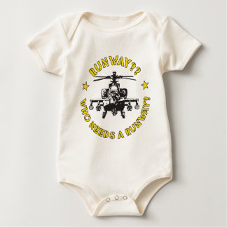 T de la nave del traqueteo mamelucos de bebé