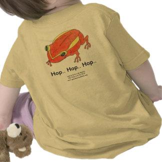 T del bebé de HIP HOP le guardaré lupulización Camiseta