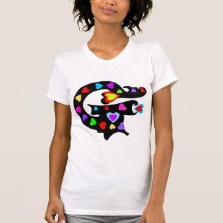"""╝ T★ del cuello barco de las mujeres """"de G de la""""  Camiseta"""