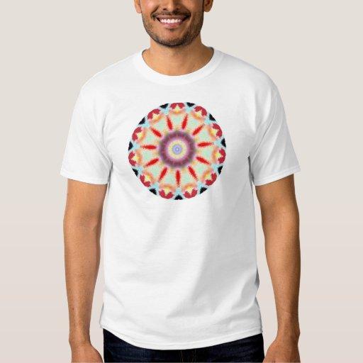 T-Dye Style Kaleidoscope Digital Design T-shirts