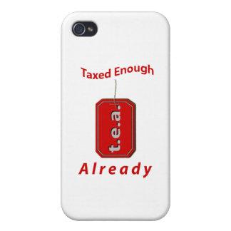 T.E.A. iPhone 4 FUNDAS
