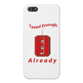 T.E.A. iPhone 5 FUNDA