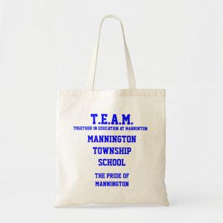 T.E.A.M. Mannington Township School Tote Bag