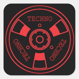 :: T E C H N O :: Sticker