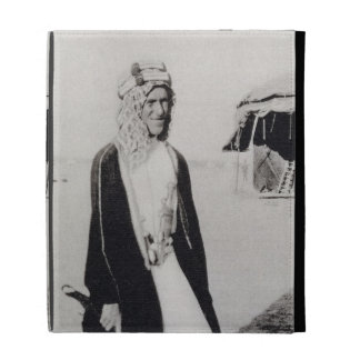 T. E. Lawrence in Arab Dress (b/w photo) iPad Folio Cover