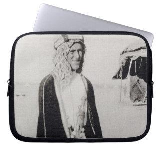T. E. Lawrence in Arab Dress (b/w photo) Laptop Computer Sleeve