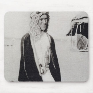 T. E. Lawrence in Arab Dress (b/w photo) Mouse Pad