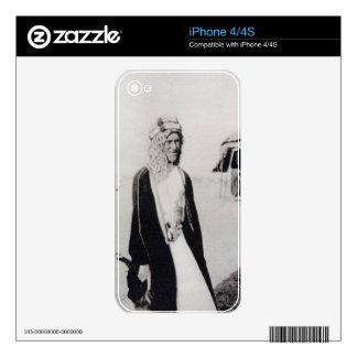 T. E. Lawrence in Arab Dress (b/w photo) Skin For iPhone 4