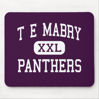 T E Mabry - Panthers - Junior - Inman Mouse Pads
