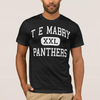 T E Mabry - Panthers - Junior - Inman T-Shirt