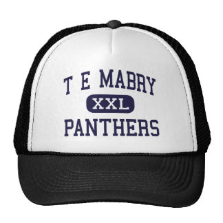 T E Mabry - Panthers - Junior - Inman Trucker Hat