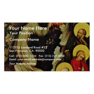 T?ebo? Altar: Christ On The Mount Of Olives, By Me Business Cards