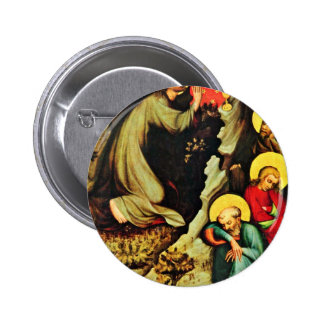 T?ebo? Altar: Christ On The Mount Of Olives, By Me Button