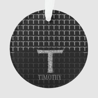 T - El alfabeto de Falck (plateado)
