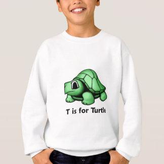 T está para la tortuga sudadera
