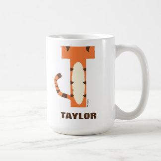 T está para Tigger el | añade su nombre Taza De Café