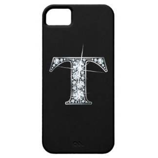 "T Faux-""Diamond Bling"" iPhone SE/5/5s Case"