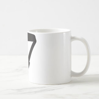 T for Totally Awesome Coffee Mug